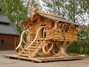 drvene kuće u skladu sa prirodom